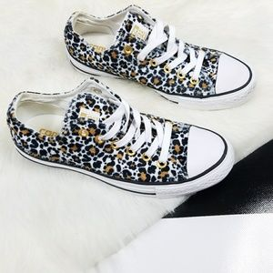 Converse Fuzzy Leopard Shoes Cheetah Sneakers